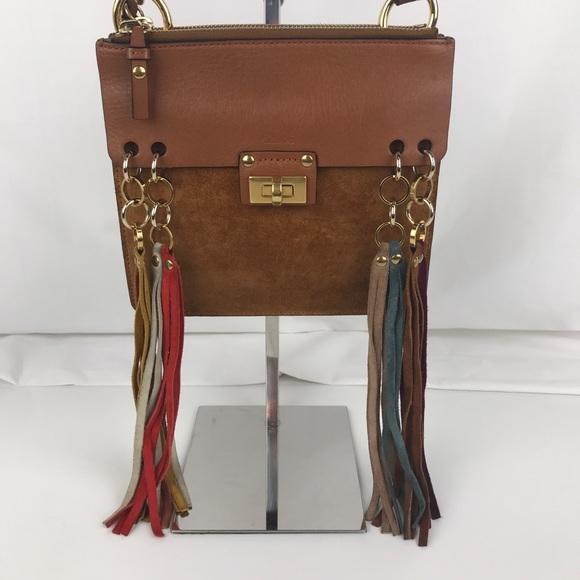 907ace7249 Chloe Handbags - New Chloe Small Jane Fringe Crossbody 3S1182-H90